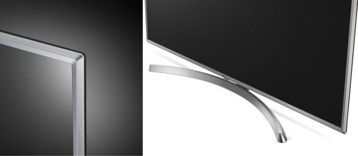 LG UK6510 дизайн