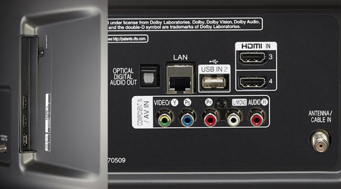 LG UK6510 интерфейсы