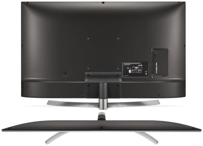 LG UK6510 задняя панель