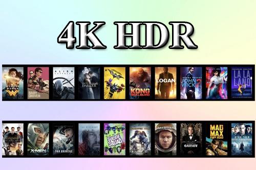 Список фильмов 4K HDR10 и Dolby Vision на iTunes