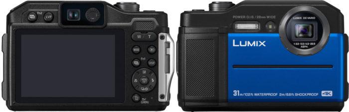 Panasonic Lumix DC-FT7 экран