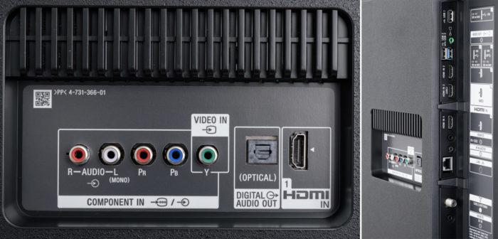 Sony XF85 подключения