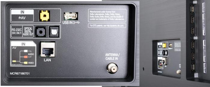 LG SK8500 интерфейсы