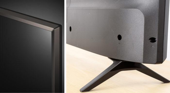 LG UK6100 дизайн подставки