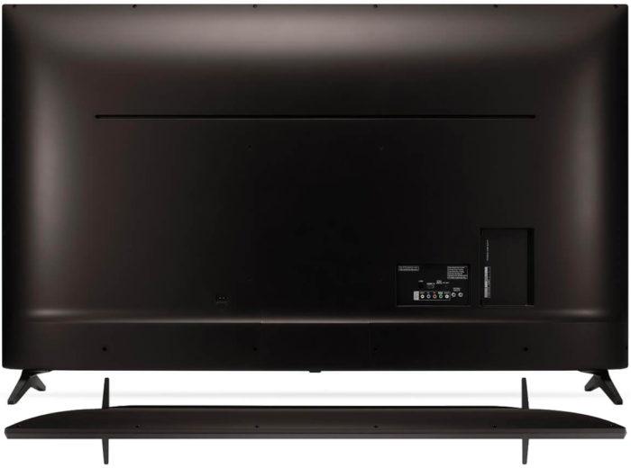 LG UK6100 тыловая панель