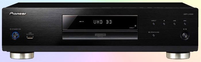 UDP-LX500 основывается на дизайне BDP-LX58