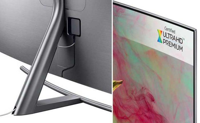 Samsung Q8CN подставка и безель