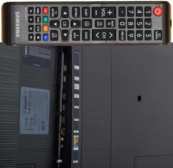 Samsung NU7170U интерфейсы