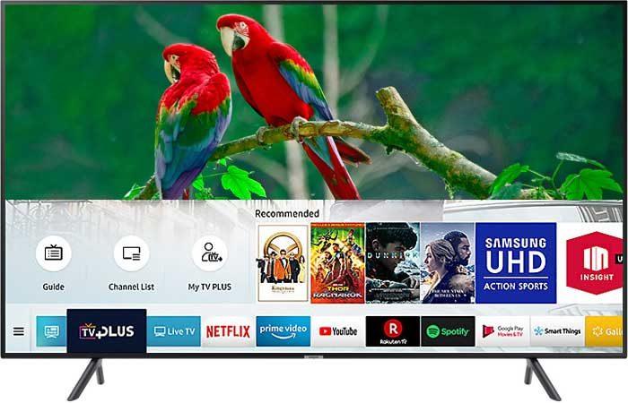 Samsung NU7170U Тизен 4.0