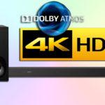 Sony HT-ZF9 — компактный саундбар с Dolby Atmos