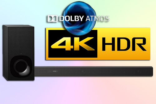 Sony HT-ZF9 - компактный саундбар с Dolby Atmos