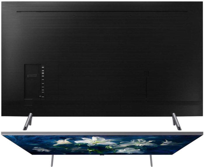 Samsung Q8DN тыл и верх