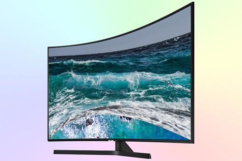 Samsung UE55NU7500U 4K с изогнутым экраном (curved)