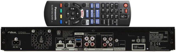 Panasonic DP-UB820 интерфейсы