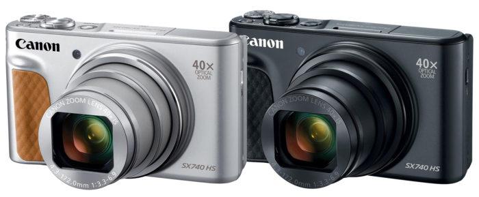 Canon PowerShot SX740 HS 4K модификации