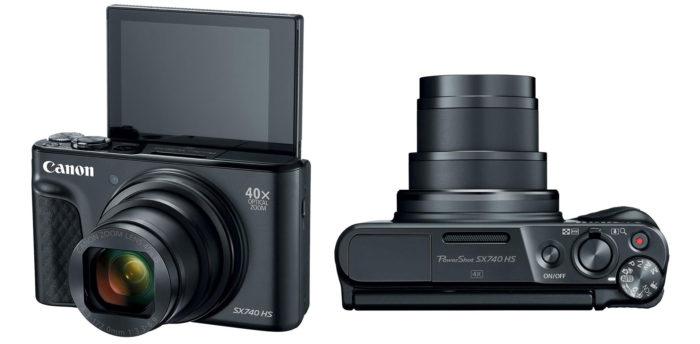 Canon PowerShot SX740 HS 4K обзор