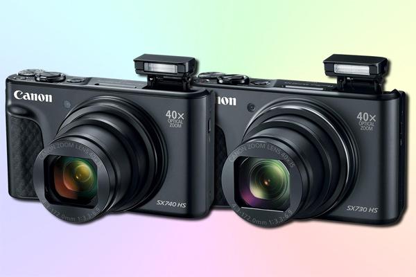 Чем отличается Canon SX740 от SX730