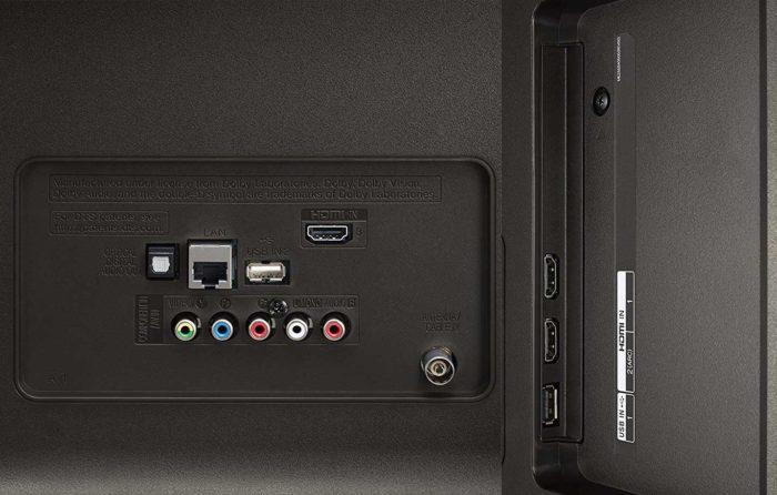 LG UK6450 интерфейсы