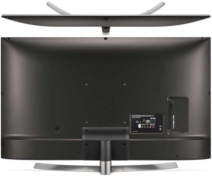 LG UK6450 тыловая панель