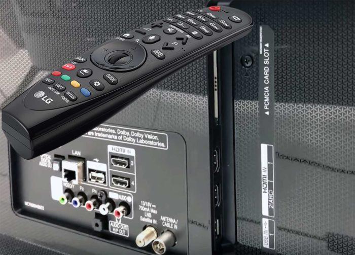 LG SK7900 интерфейсы