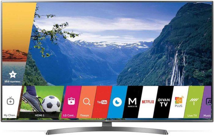 LG UK6750 Smart TV