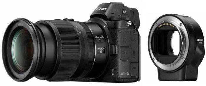 Nikon Z6 Z-series переходник под байонет