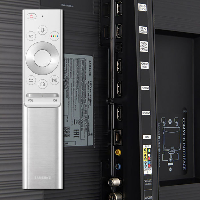 Samsung NU7670U интерфейсы
