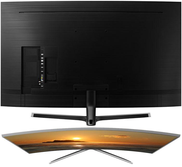 Samsung NU7670U задняя панель