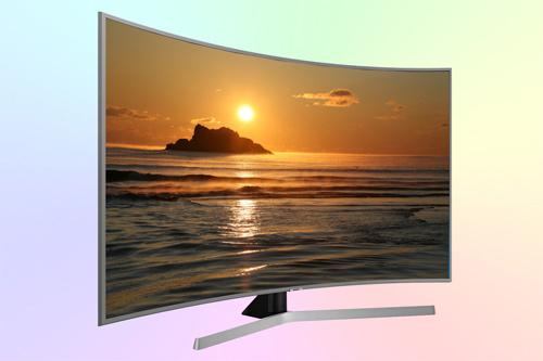 Samsung UE55NU7670U 4K HDR с изогнутым экраном (curved)