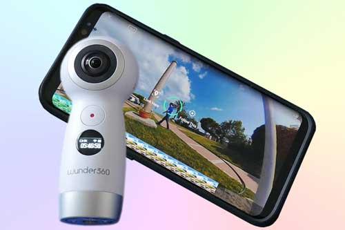 Wunder 360 C1 - экшн камера с панорамной съемкой