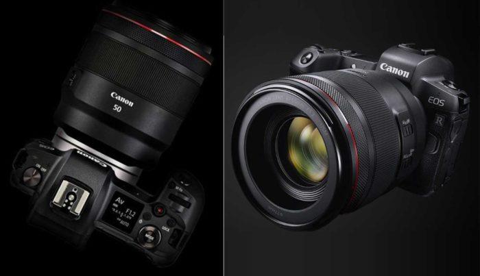 Фотоаппарат Canon EOS R дизайн и управление