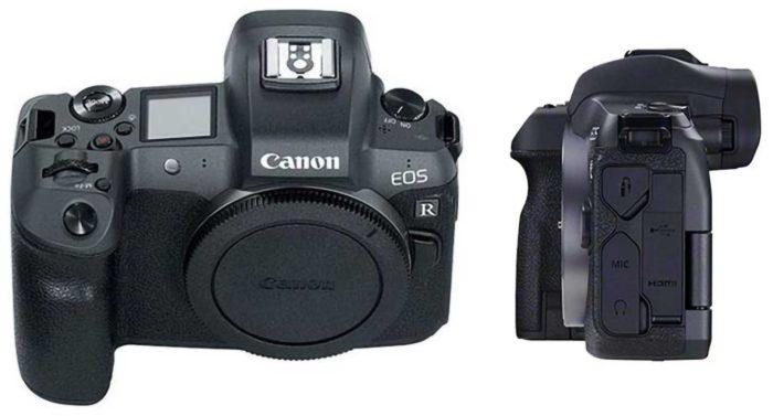 Фотоаппарат Canon EOS R интерфейсы