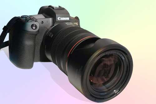 Canon EOS R - полнокадровый БЗК фотоаппарат 4К