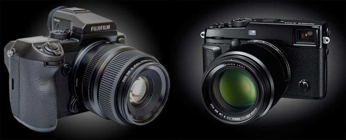 Fujifilm GFX 50R и GFX 50S отличия