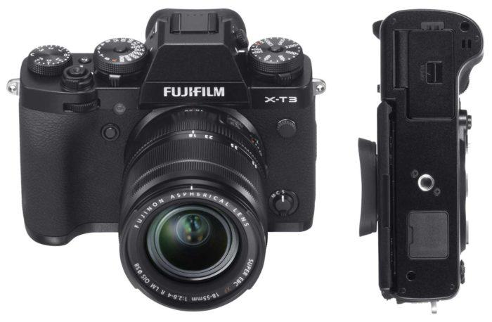 Фотокамера Fujifilm X-T3 интерфейсы