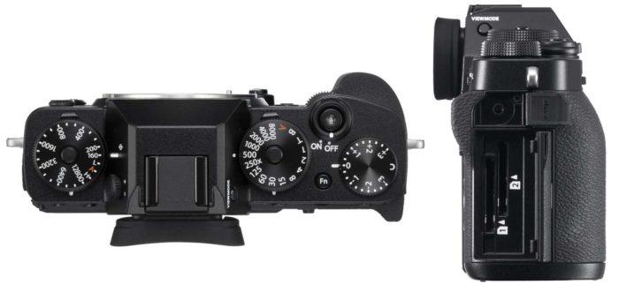 Фотокамера Fujifilm X-T3 дизайн
