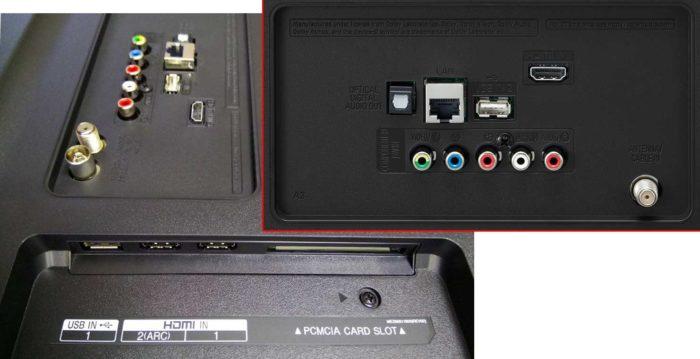 LG UK6200 интерфейсы