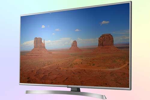 LG 43UK6550 - бюджетный 4K телевизор с прямой подсветкой