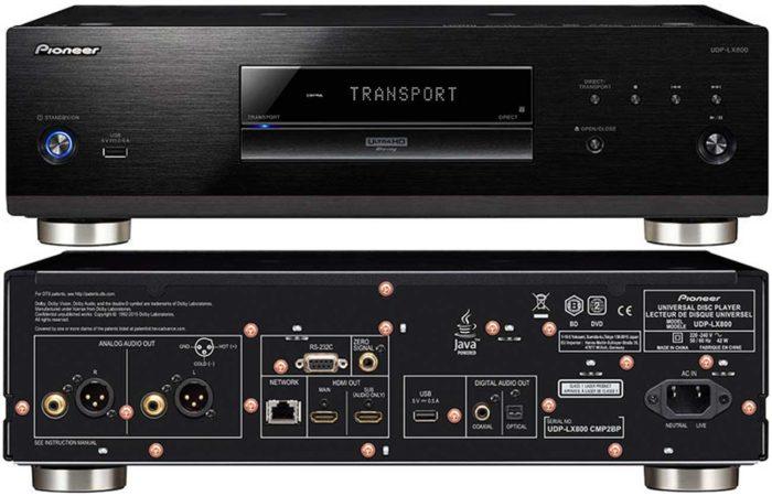Pioneer UDP-LX800 интерфейсы