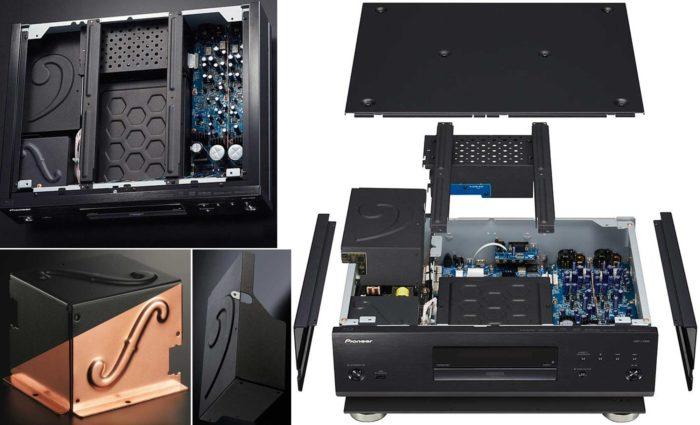 Pioneer UDP-LX800 особенности дизайна