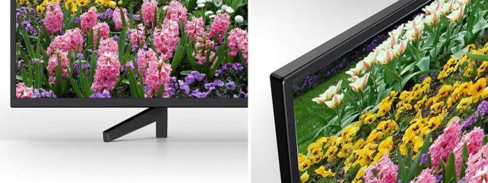 Sony XF7005 подставка и толщина