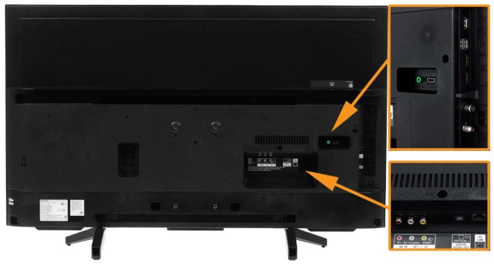 Sony XF7005 интерфейсы