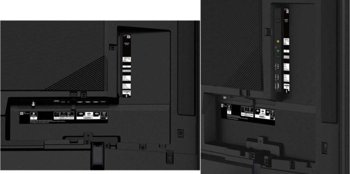 Sony ZF9 интерфейсы