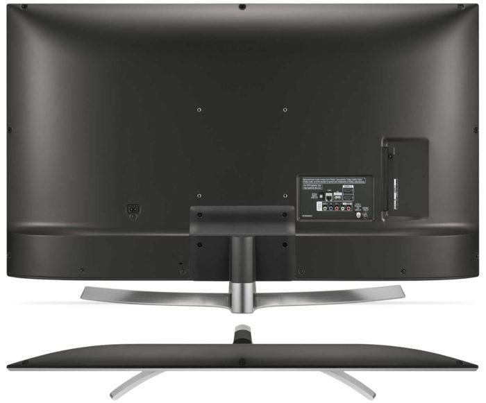 LG UK6710 дизайн тыльной стороны