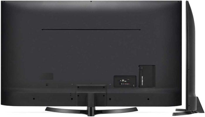 LG UK6470 вид сбоку и сзади