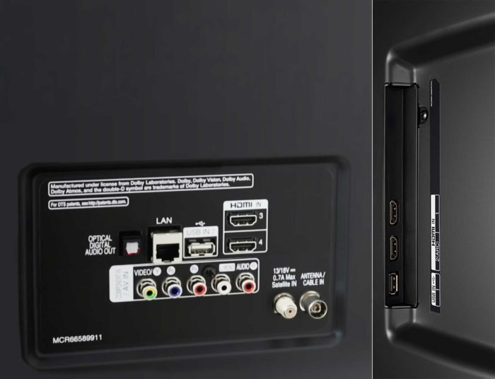 LG UK6500 интерфейсы
