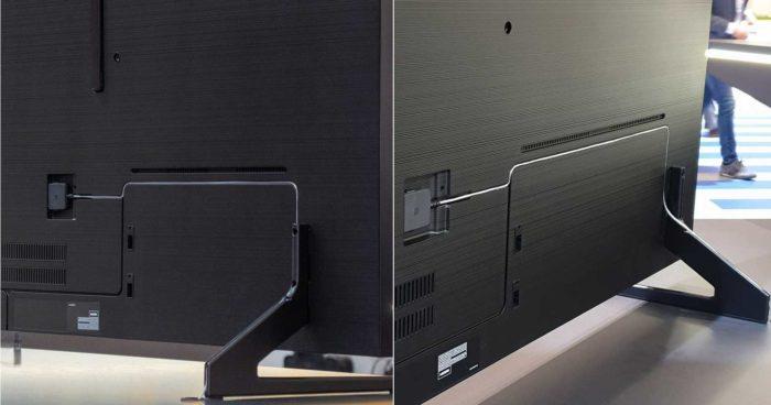 Samsung Q900R монтаж кабелей