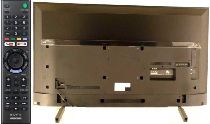 Sony XF7596 пульт и задняя панель