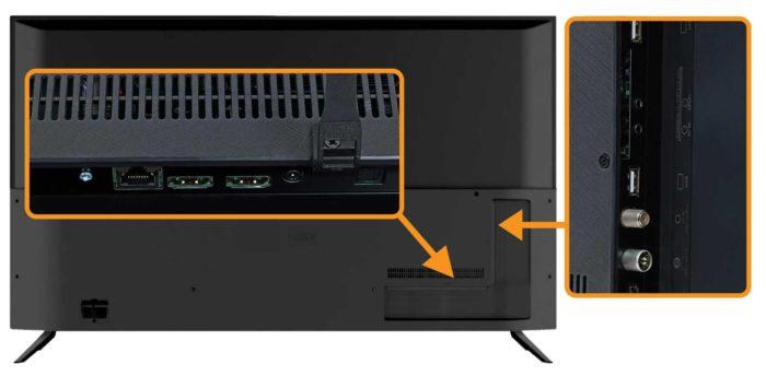 Haier K6500U интерфейсы