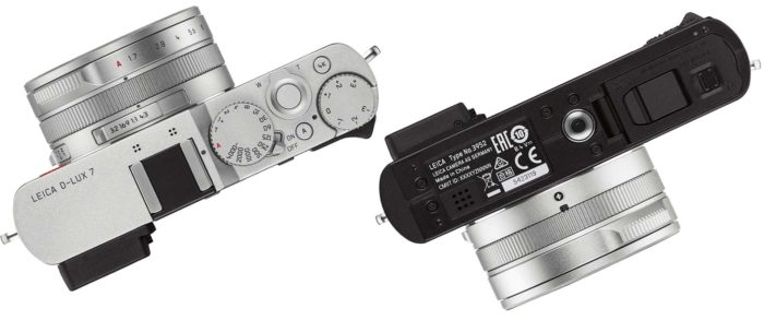 Leica D-Lux 7 интерфейсы